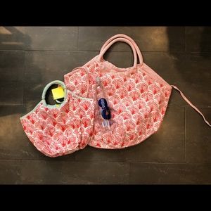 Roberta Roller Rabbit Accessories - 🌱SOLD🌱 Roller Rabbit mommy & me bondi beach bags